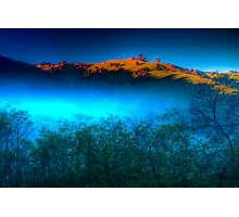 Morning Fog Near Lake Eildon Photographic Print
