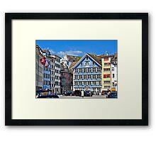 Zurich Color Framed Print