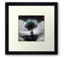 Sailing in the Sky Framed Print
