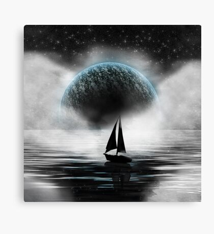 Sailing in the Sky Canvas Print
