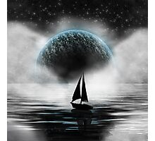 Sailing in the Sky Photographic Print