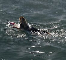 Surfer Girl, Surf City, USA by jdbussone