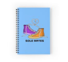Sole Mates Spiral Notebook