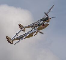 P-38 Lightning by Cliff Williams