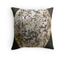 CROW EGG1 Throw Pillow