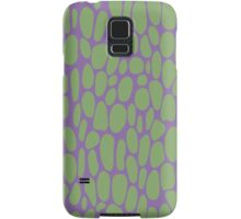 0021 Asparagus Dots with Complementary Color Samsung Galaxy Case/Skin
