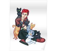 Josh Dun + Cats Poster