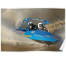 Cabarita V8 Jetsprints - TUNN-A-GUTS Poster
