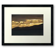 Lanzarote: We are all islands in a common sea Framed Print