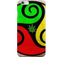 Grunge Reggae Love Vibes - Cool Weed Cannabis Reggae Rasta T-Shirt NoteBooks Stickers iPhone Case/Skin