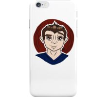 Cute Boy Cartoon  iPhone Case/Skin