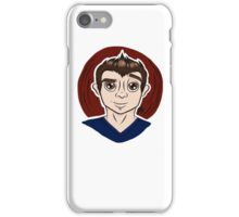 Cute Boy Cartoon  iPhone Case/Skin
