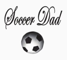 Soccer Dad T-Shirt (Black & White) by Angi Baker