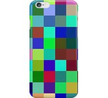 Yesterday blue, Today green, Tomorrow Purple iPhone Case/Skin