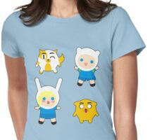 Tiny Adventurers Womens Fitted T-Shirt