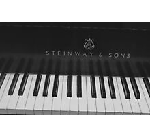 Oh... To Play On a Steinway!! Photographic Print