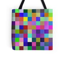 Red, Blue, Yellow: 3 primary colors Tote Bag