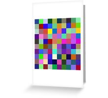 Red, Blue, Yellow: 3 primary colors Greeting Card