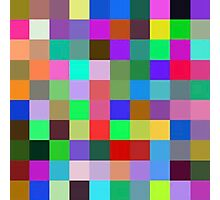 Color Squares 10 Photographic Print