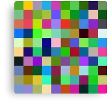 Color Squares 11 Canvas Print