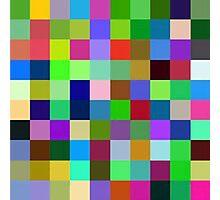 Color Squares 11 Photographic Print