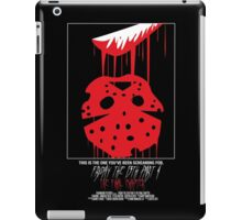 Friday The 13th Part 4: The Final Chapter iPad Case/Skin