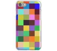 Color Squares 12 iPhone Case/Skin