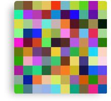 Color Squares 12 Canvas Print