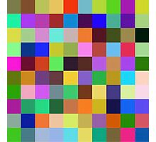 Color Squares 12 Photographic Print