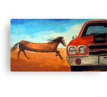 The Long Horse Canvas Print