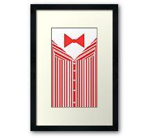 Dapper Dans (Red) Framed Print