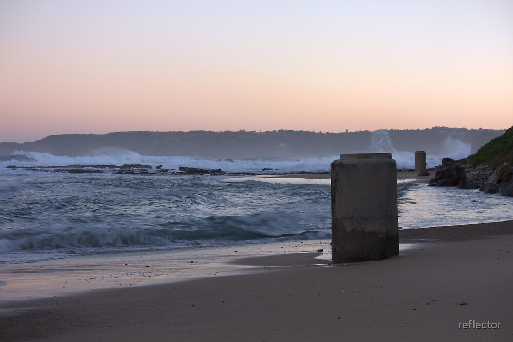 Sunset At Burwood by reflector