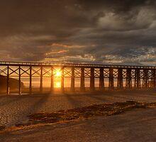 Sunset at Mendocino by Soumya Mitra