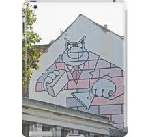 Mural, Brussels, Belgium iPad Case/Skin