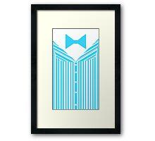 Dapper Dans (Blue) Framed Print