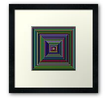 Think out of the box! :) Framed Print