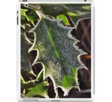 Frosty holly iPad Case/Skin
