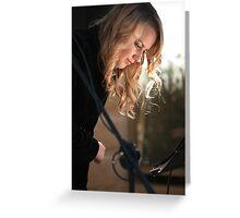 Christie Lamb 13.6.10 #1 Greeting Card