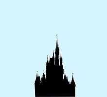 Cinderella Castle by morganlianne