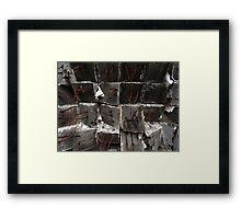Torn Ends Framed Print