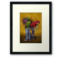Hooligans Framed Print