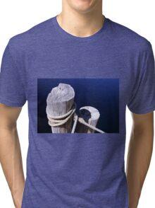 Cool Blue  Tri-blend T-Shirt