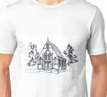 Christ Church Kensington Melbourne. Elizabeth Moore Goldingⓒ Unisex T-Shirt