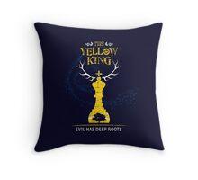 Yellow King Throw Pillow