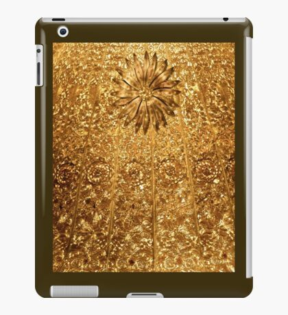 Golden Glamour Bling Bling iPad Case/Skin