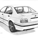 BMW 318i (E36) by Steve Pearcy