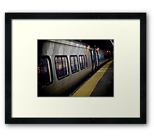 The Girl On The Train *featured Framed Print