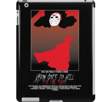 Jason Goes To Hell: The Final Friday iPad Case/Skin