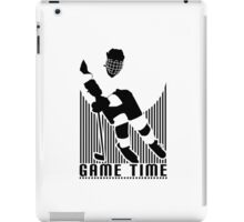 Game Time - Hockey (White) iPad Case/Skin