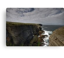 Loop Head Cliffs Canvas Print